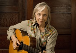 LA LE:  Laurie Lewis plays the Red Barn on April 5. - PHOTO BY MIKE MELNYK
