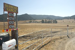 PHASE 1 :  If approved by the county, Excelaron plans to drill from four exploratory wells on the Mankins Ranch in Huasna Valley, with as many as eight additional wells if the first prove to be successful. - FILE PHOTO BY STEVE E. MILLER