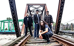 NEW MUSIC!:  Fans of The Expendables get ready for new music when they play Jan. 25 at SLO Brew to promote Sand in the Sky. - PHOTO BY SLY VEGAS