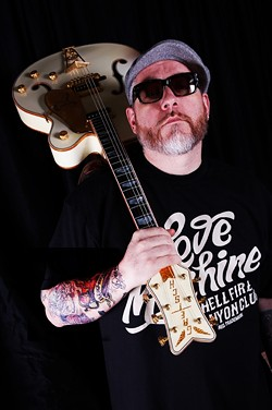 BLUESMAN:  Former House of Pain front man Everlast performs in his solo acoustic style on Dec. 17 at SLO Brew. - PHOTO COURTESY OF EVERLAST
