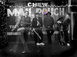 MARDI GRAS! :  On Fat Tuesday, March 8, celebrate Mardi Gras with Burning James and the Funky Flames at the Z Club. - PHOTO COURTESY OF BURNING JAMES