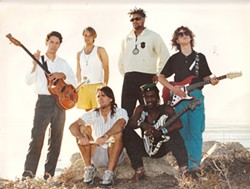 SO '80S-TASTIC! :  Past members of the great late-'80s and '90s local band Rock Steady Posse will reunite at Mr. Ricks on April 20. - PHOTO COURTESY OF ERIC COTTON
