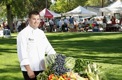 MEET THE MASTERS :  Gregg Wangard of Marisol and four other stellar chefs will thrill diners at at the Cliffs Hotel with gala five-course meal for a good cause. - PHOTO BY STEVE E. MILLER