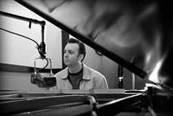 SWINGER! :  Amazing pianist Carl Sonny Leyland headlines the 30th annual SLO Jazz Federation Piano Showcase on April 27 in Unity Concert Hall. - PHOTO COURTESY OF CARL SONNY LEYLAND