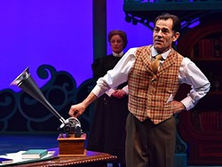 ORDINARY MAN:  As Henry Higgins, Andrew Philpot (pictured), does justice to the role of the pretentious phonetics professor. - PHOTO COURTESY OF PCPA