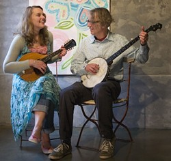GOOD COUNTRY FOLK :  Appalachian roots duo Jeni & Billy play The Porch on Sept. 30. - PHOTO COURTESY OF JENI & BILLY