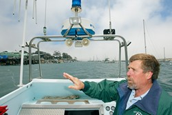 AT THE HARBOR'S HELM :  After two decades running the harbor, Morro Bay Harbor Director and Harbormaster Rick Algert will retire June 25. - PHOTO BY STEVE E. MILLER