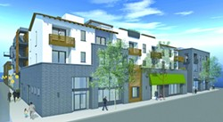 THE FUTURE :  Garden Street Terraces is set to change the landscape of downtown SLO with mixed-use retail, residential, and a hotel. - IMAGE BY GARCIA ARCHITECTURE & DESIGN