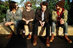 TROUBADOURS:  Great L.A.-based folk rock quartet Dawes plays Oct. 15, at SLO Brew. - PHOTO BY KEVIN HAYES