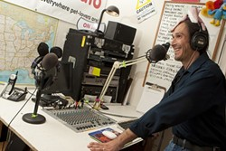 WHAT'S THE FREQUENCY, HAL? :  Nationally syndicated radio host and recent Morro Bay transplant Hal Abrams is generating buzz in the North Coast with his quest to develop hyper-local, community-based nonprofit radio. - PHOTO BY STEVE E. MILLER