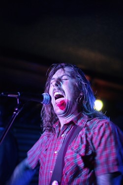 MORE BANG FOR YOUR BUCK! :  American Dirt, fronted by David Wilson, is one of ten bands playing the free Twang N Bang VIII on Sept. 1 at Frog and Peach. - PHOTO BY GLEN STARKEY