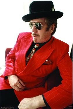 LICK THIS :  The incomparable Dan Hicks & His Hot Licks play SLO Brew on Dec. 7. - PHOTO BY JENEE CRAYNE