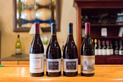 GO TO THE DARK SIDE:  You may be well aware that Claiborne & Churchill Winery is known for its world-class dry Riesling and dry gewürztraminer. However, winemaker Coby Parker-Garcia is producing an array of handcrafted pinot noir that provides fantastic contrast to those crisp whites. - PHOTO BY KAORI FUNAHASHI