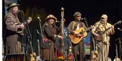 YEE HAW:  Get your string band fix on March 7 when Fiddlestix plays the Red Barn Community Music Series. - PHOTO BY HOWARD GOLD