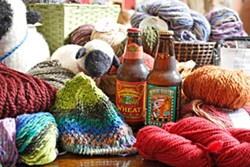 BEER AND YARN :  What could be better together?