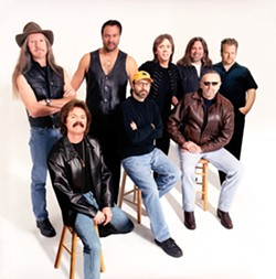 DOOBIES! :  The Doobie Brothers headline the 19th Annual Avila Beach Blues Festival on May 27. - PHOTO COURTESY OF THE DOOBIE BROTHERS