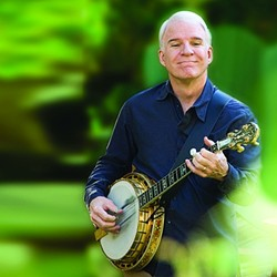 STEVE MARTIN BANJO & BLUEGRASS :  Oct. 6, 7:30 p.m. $24-$74. Info: stevemartin.com. - PHOTO COURTESY OF CAL POLY ARTS