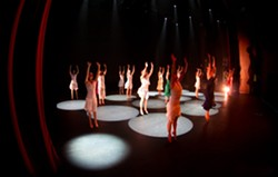 LIGHT AND MAGIC :  As in past years, Variable Velocity's latest show, Inside Out, will integrate innovative lighting and multimedia into its athletic, experimental dance pieces. - PHOTO BY KIEL CARREAU