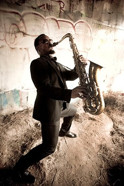 FUNKY FELLOW :  Karl Denson's Tiny Universe will get your booty moving on Feb. 3 at SLO Brew. - PHOTO COURTESY OF KARL DENSON