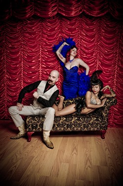 PEEP THIS! :  Part circus sideshow, part burlesque, all awesome! That's what the Pretty Things Peepshow is! See it June 16 at The Z Club! - PHOTO COURTESY OF PRETTY THINGS PEEPSHOW