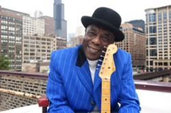 BLUES MASTER!:  The amazing Buddy Guy plays the PAC on Nov. 6. - PHOTO BY PAUL NATKIN