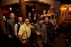 NORTHERN ENGLISH SOUL! :  Awesome 10-piece soul act The Inciters returns to Frog and Peach on Feb. 14 and 16. - PHOTO COURTESY OF THE INCITERS