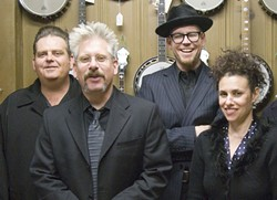 HIGH AND LONESOME :  The Black Crown Stringband and Little Black Train play old-time bluegrass at the Red Barn in Los Osos on Dec. 31. - PHOTO COURTESY OF BLACK CROWN STRINGBAND