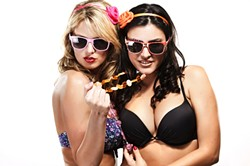 YOU STAY CLASSY, SAN LUIS OBISPO!:  The Rock the Runway Bikini and Lingerie Contest is going off at SLO Brew in San Luis Obispo on Saturday, Aug. 4 (7:30 p.m.; 21-and-older; $5 at the door). Join your buddies for a night of pretty ladies, plentiful cocktails, and some shenanigans just for the hell of it!