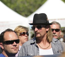 LIVE OR MEMOREX? :  Fake Kid Rock makes an appearance. - PHOTO BY GLEN STARKEY