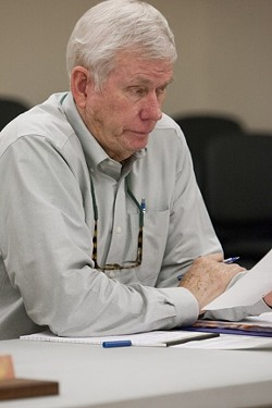 RESIGNED TO THE FACT :  John Wallace, who plays dual roles as head of the Wallace Group—which provides engineering services to a number of community services districts—and district administrator for the South County Sanitation District, pulled his firm from the Oceano Community Services District on Oct. 17. - FILE PHOTO BY STEVE E. MILLER