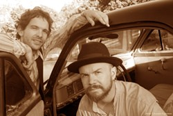 COMIN' ROUND! :  Folk, roots, and world music duo Round Mountain returns to the area for a concert at the Steynberg Gallery on June 14. - PHOTO COURTESY OF ROUND MOUNTAIN