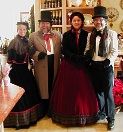 DO YOU HEAR WHAT I HEAR?:   The Uncommone Carolers raise their voices in a capella style for a special holiday concert Dec. 23 at SLO's Old Mission. - PHOTO COURTESY OF THE UNCOMMONE CAROLERS