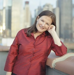 PRODIGAL DAUGHTER :  Former SLO local Sarah Pillow—now a fancy NYC jazz, opera, and early music singer—returns to play a memorial concert for Alice Jo Duckworth on May 6 at St. Stephen's Episcopal Church. - PHOTO COURTESY OF SARAH PILLOW