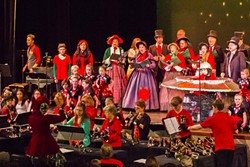 LOUD AND PROUD:  Sing along without getting shushed at the Arroyo Grande Rotary Club's Christmas Sing-Along, set for Sunday, Dec. 21 at the Clark Center. - PHOTO COURTESY OF ARROYO GRANDE ROTARY CLUB