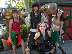 FAERIE FANTASY :  Pictured are festivalgoers at last year's Solvang Faeriefest. - PHOTO COURTESY OF THE SOLVANG FAIRIEFEST