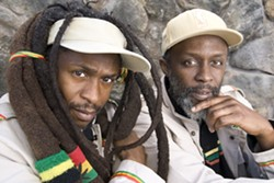 GET IRIE! :  Reggae acts Steel Pulse (pictured) and Ziggy Marley play the Vino Robles Amphitheatre on Aug. 30. - PHOTO COURTESY OF STEEL PULSE