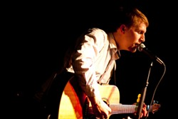 SOULFUL SOUNDS:  Award-winning Central Coast singer-songwriter Loren Radis will release his new live album on Sept. 19 at Steynberg Gallery. - PHOTO COURTESY OF LOREN RADIS