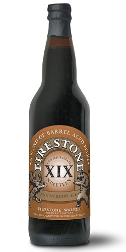 MEET XIX:  Dark and chocolatey with zero hoppiness Firestone Walker's XIX Anniversary Ale is perfect for fall sipping. - PHOTO COURTESY OF FIRESTONE WALKER BREWING CO.