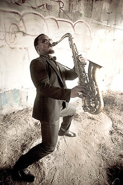 TINY UNIVERSE, BIG SOUND :  Karl Denson's Tiny Universe headlines the Pozo GreenFest on Oct. 18. - PHOTO COURTESY OF KARL DENSON
