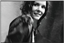 OLD EDIE:  This is Edie Brickell during her early New Bohemians days. - PHOTO COURTESY OF EDIE BRICKELL