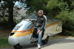 GRAND MARSHAL! :  Designer and 1999 American Motorcycle Association Hall of Famer Craig Vetter will act as grand marshal at the Annual SLO Classic Motorcycle Show on Oct. 13. - PHOTO COURTESY OF CRAIG VETTER