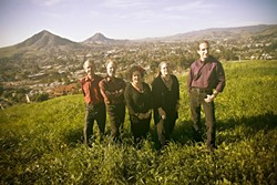 TERRACE HILL HEROES :  Café Musique will bring their stirring sounds to Painted Sky Studios on March 27. - PHOTO COURTESY OF CAFÉ MUSIQUE