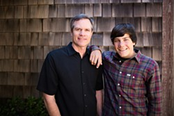 GET YOUR IRISH UP :  Father-and-son duo Young Ireland plays March 16 in La Perla del Mar Chapel - PHOTO COURTESY OF YOUNG IRELAND