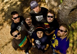 POSITIVE VIBES! :  The heads should be out in force on June 20 when Fortunate Youth returns to SLO Brew. - PHOTO COURTESY OF FORTUNATE YOUTH