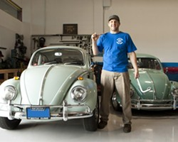 ALL MODELS :  Scott Lighty, owner of Lighty's Independent Volkswagen Repair, doesn't just work on the classic VW models; he also handles all of the newest German giant's cars and trucks, too! - PHOTO BY STEVE E. MILLER