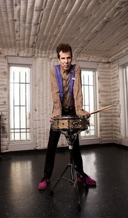 SLIMMER:  You can soak in the glory of former Stray Cats drummer Slim Jim Phantom at SLO Brew on Sept. 20. - PHOTO COURTESY OF SLIM JIM PHANTOM