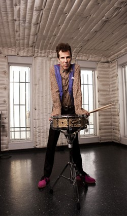 SLIMMER:  You can soak in the glory of former Stray Cats drummer Slim Jim Phantom at SLO Brew on Sept. 20. - PHOTO COURTESY OF SLIM JIM PHANTOM