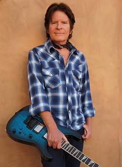"LISTMAKER!:  Rolling Stone magazine named John Fogerty No. 40 on its 100 Greatest Guitarists list, No. 73 on its 100 Greatest Singers list, and his songs ""Proud Mary"" (No. 41) and ""Born on the Bayou"" (No. 53) on its Greatest Pop Songs and Guitar Songs lists respectively. See him Oct. 11 at Vina Robles Amphitheatre. - PHOTO COURTESY OF JOHN FOGERTY"