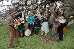 BRING OUT YOUR INNER LEPRECHAUN :  Hear Hear The Darlins Roar on March 13 during a pre-St. Paddy's Day party at the SLO Down Pub. - PHOTO COURTESY OF HEAR THE DARLINS ROAR