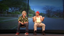 PEACE, LOVE, & DOPE:  Stoner comedy duo Cheech and Chong open the May 30 War show at Vina Robles Amphitheatre. - PHOTO COURTESY OF CHEECH AND CHONG